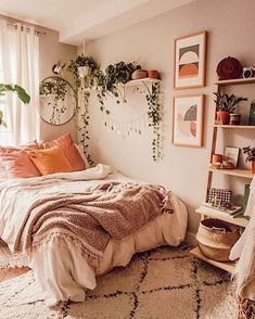 49 Fantastic College Bedroom Decor Ideas and Remodel .- 49 Fantastic College Schlafzimmer Dekor Ideen und Remodel … 49 Fantastic College Bedroom Decor Ideas and Remodel … – - College Bedroom Decor, Home Bedroom, Master Bedroom, Bedroom Inspo, Bedroom Apartment, Cozy Apartment Decor, Boho Dorm Room, Boho Bedroom Decor, College Apartment Bedrooms