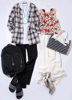 今週のレッスン:エアリーな着こなしでジメジメを克服!(ルミネエスト新宿) | LUMINE MAGAZINE