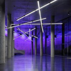 Small Olympic Hall  by pfarré lighting design