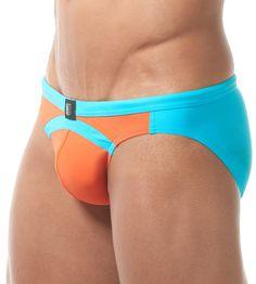 5dc6bfc396 Gregg Homme Sea Reef Swim Brief. Greggs, Swimwear Fashion, Soft Fabrics.  CITYBOYZ ☆ USA