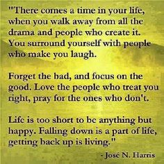 Walk away from all the drama...