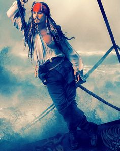 Pirates of the Caribbean. Johnny Depp.