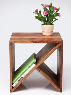 Teds Wood Working - Table basse / chevet - Get A Lifetime Of Project Ideas & Inspiration! Cube Furniture, Pallet Furniture, Furniture Projects, Wood Projects, Furniture Design, Bedroom Furniture, Urban Furniture, Diy Bedroom, Furniture Storage