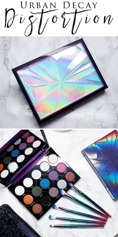 Urban Decay Distortion Palette - Swatches, 3 Looks & 1st Impressions. I compare it to the Kat Von D Alchemist Palette too.