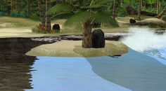 A mod that replaces default water shaders.