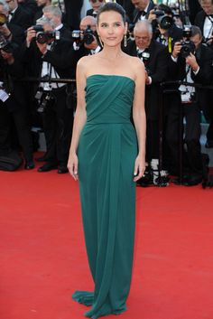 """Virginie Ledoyen attends the Opening Ceremony and """"Moonrise Kingdom"""" premiere during the 65th Cannes Festival at Palais des Festivals on May 16, 2012 in Cannes, France."""