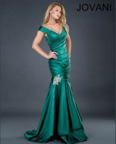 Jovani Formal Dress 73954  Love this green!