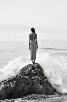 ME BY THE WAVES OF THE SEA