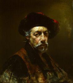 David Leffel self portrait