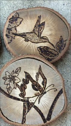 A personal favorite from my Etsy shop https://www.etsy.com/listing/386919744/woodburned-coasters