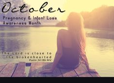 It's unnerving.. My son was born in October.. happy, healthy to young, stupid, unwed parents. Yet October is also a month to celebrate loss. God has such a plan.. A plan that only he can comprehend.   Learn about resources if you've suffered #miscarriage, #stillbirth or early infant loss. www.pacn.org