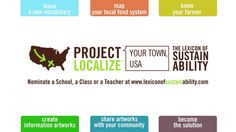 """Project Localize. """"Project Localize"""" is the Lexicon of Sustainability's engaging new educational initiative, and it will change the way you ..."""