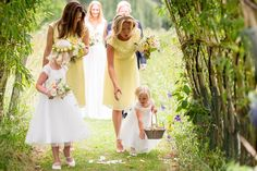 Katherine Ashdown - Elegant Wedding At Chaucer Barn In Norfolk With Bride In Jenny Packham And Bridesmaids In Yellow With An Outdoor Ceremony