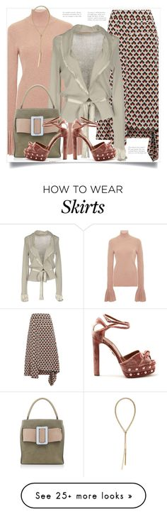 """."" by fashionmonkey1 on Polyvore featuring Carven, Marni, Appartamento 50, Aquazzura and Sarah Magid"