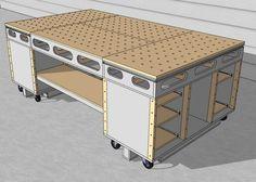 Table d'assemblage + porte systainer DIY [Terminé]                                                                                                                                                                                 Plus