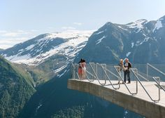 This triangular viewing platform perched on the edge of a mountain was created by Norwegian studio Code Arkitektur as a rest stop for one of the country's picturesque tourist trails