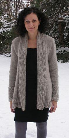 London Bridges Cardigan Knitting pattern by Nancy Eiseman | Knitting Patterns | LoveKnitting