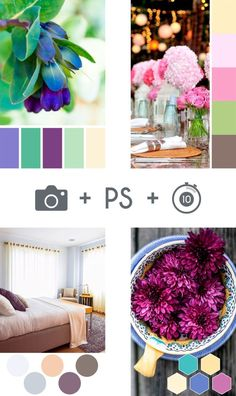 I'm sure you've seen photographs online which include a group of colour swatches. They are a great way to add a little extra detail to your images and make them stand out. They're surprisingly easy to create too. Just open up Photoshop, grab that photo and 10 minutes later, you've got a lovely, eye-catching image to use on your blog or social media. Video tutorial from itsorganised.com