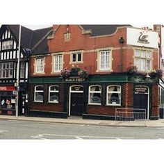 Black Swan Pub, Old Pub, Swan Queen, Derbyshire, Nottingham, Historical Photos, Mansions, Street, House Styles