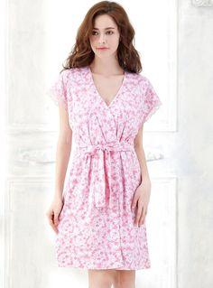 Pink Floral Print Lace Short Sleeve V Neck Waist Strap Cotton Nightgown Nightdress http://www.amazon.com/Sweetness-Floral-Adjustable-Nightgown-Nightdress/dp/B019C0YO6O/ref=sr_1_22?srs=8104465011&ie=UTF8&qid=1465183902&sr=8-22&keywords=women+floral+nightgown