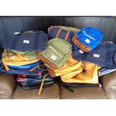 Herschel!    New Bags!     www.angusblack.com.au