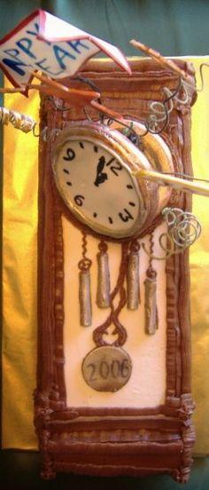 Grandfather Clock Cake