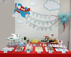 Ideas For Birthday Party Boy Cars Baby Shower - Geburtstag 2nd Birthday Party Themes, Boy Birthday Parties, Boy First Birthday, Birthday Party Decorations, 1st Birthday Ideas For Boys, Baby Shower Kuchen, Airplane Birthday Cakes, Time Flies Birthday, Airplane Baby Shower