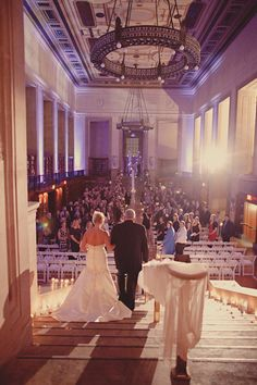 Wedding At Indianapolis Library - If I get married in the future, let it be at a library
