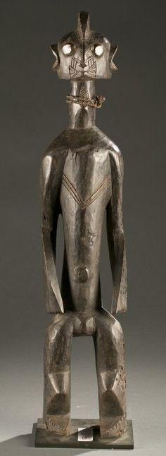 figura de pie de Nigeria, siglo 20.