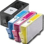 HP 920XL Combo Pack of 4 Ink Cartridges