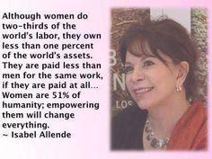 #convivial #women get mad. Isabel Allende