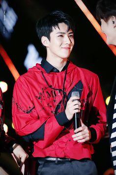 Sehun | EXO  He is so adorable >.<