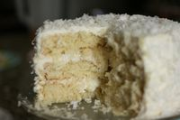 The Best Coconut Cake EVER! - Mustard Seeds