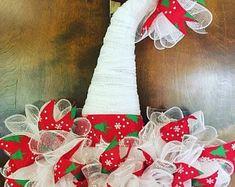 Navidad Santa sombrero suspensión de puerta  b95b596be01