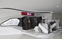 LG Appliances-Show Room-Mexico City on Behance