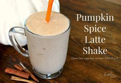 pumpkin spice latte shake trim healthy mama