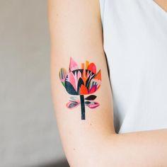 Image Pretty Tattoos, Love Tattoos, Beautiful Tattoos, Body Art Tattoos, New Tattoos, Tatoos, Polish Tattoos, 4 Tattoo, Tattoos Gallery