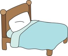 bed clipart   Bed 1 clipart, cliparts of Bed 1 free ...