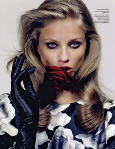 Anna Selezneva by Anthony Maule for Vogue Russia September 2011