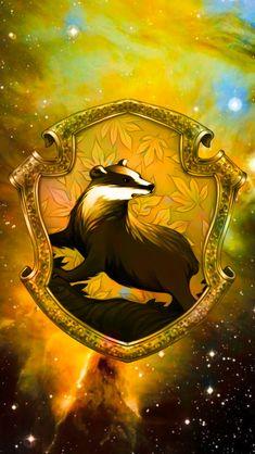Vannessa Tesla — Hogwarts House Crest Spacial iphone Wallpapers!