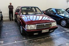 #Lancia #Thema 8.32 au salon Auto e Moto d'Epoca de Padoue Reportage : http://newsdanciennes.com/2015/10/27/grand-format-auto-e-moto-depoca-a-padoue/ #ClassicCar #Vintage #Voiture #Ancienne