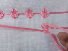 Free Online Videos Best Movies TV shows - Faceclips Silk Ribbon Embroidery, Cross Stitch Embroidery, Hair Accessories, Videos, 1, Youtube, Tape Art, Green Ribbon, Ribbon Embroidery Tutorial