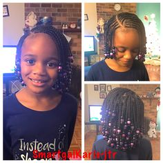 Not that many braids but cute