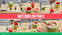 How to make a perfect watermelon punch #cocktails http://www.cocktailicious.nl/watermelon-punch/
