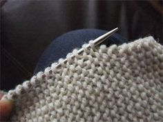 "The difference between ""pick up stitches"" and ""pick up and knit"", and how to do both. By the Yarn Harlot"
