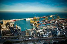 The Port of Barcelona is Europe's ninth largest container port, with a trade volume of 2.57+ million TEUs. It is also one of the most important ports in the Mediterranean.