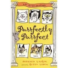 Purrfectly Purrfect, Patricia Lauber, cats, poetry, ASP books, school age, chapter book