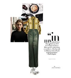 """147.Vogue Baby/"" by lysenko1 ❤ liked on Polyvore featuring Prada, Versace and Balmain"