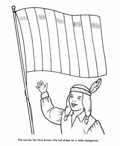 Revoltionary War Minutemen Coloring Page School History