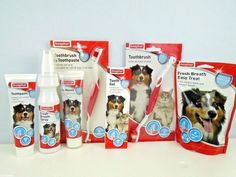 Beaphar Dog Puppy Dental Oral Care Healthy Teeth & Gums fights Plaque & Tartar #beaphar